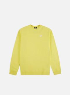 Nike - NSW Club Crewneck, Yellow Pulse/White