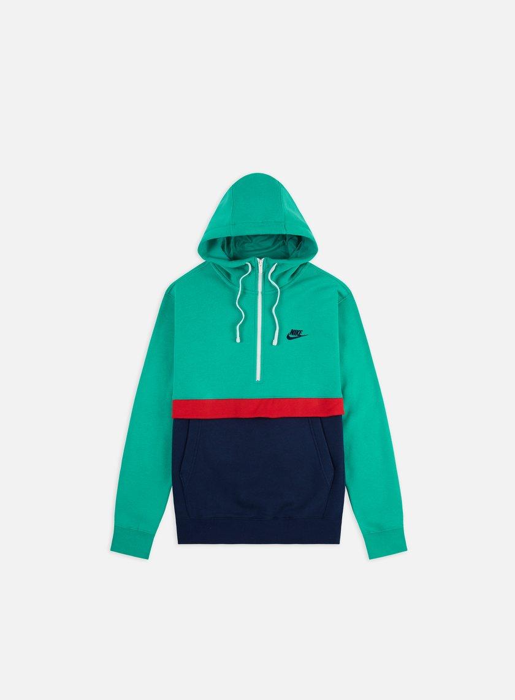 Nike NSW Club Half Zip Hoodie