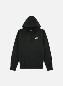 Nike - NSW Club Hoodie, Black/White