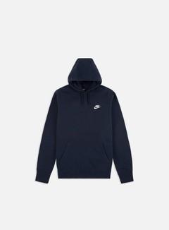 Nike - NSW Club Hoodie, Obsidian/White