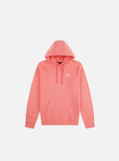 Nike - NSW Club Hoodie, Pink Gaze/White