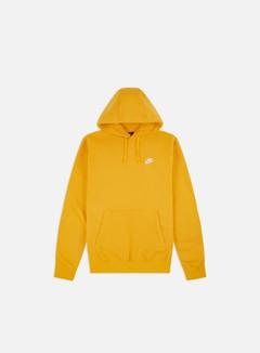 Nike - NSW Club Hoodie, University Gold/University Gold/White