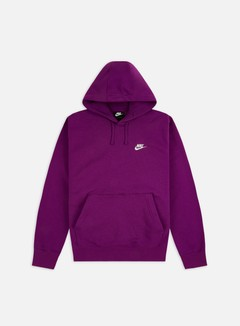 Nike - NSW Club Hoodie, Viotech/Viotech/Black