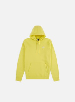 Nike - NSW Club Hoodie, Yellow Pulse/White