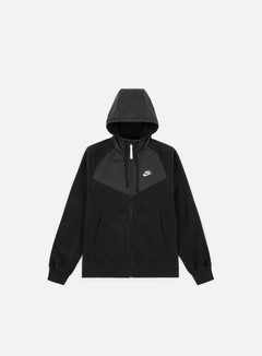 Nike - NSW Core Winter Full Zip Hoodie, Black/Black