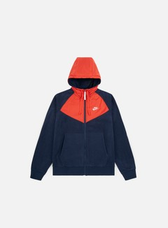 Nike - NSW Core Winter Full Zip Hoodie, Obsidian/Sail
