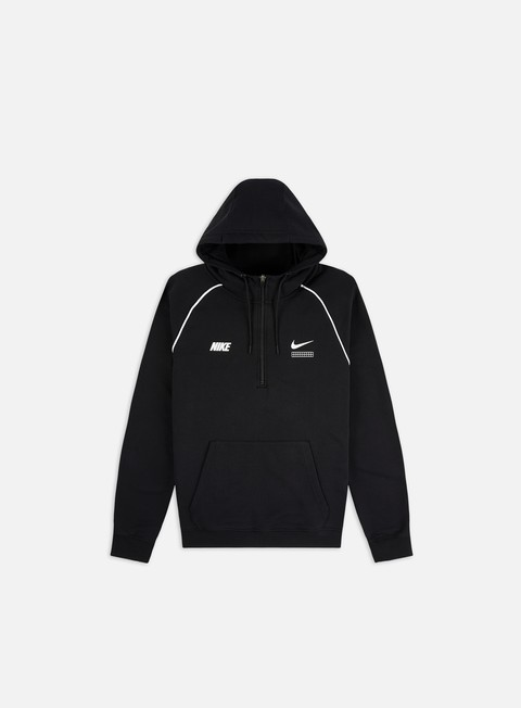 Felpe con Zip Nike NSW DNA FT Half Zip Hoodie