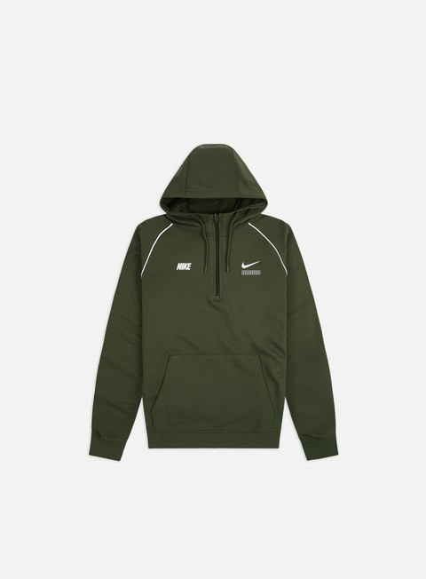 Outlet e Saldi Felpe con Cappuccio Nike NSW DNA FT Half Zip Hoodie