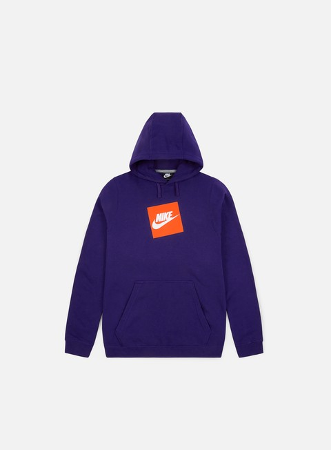 Felpe Logo Nike NSW HBR Fleece Hoodie