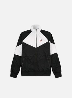 Nike - NSW HE PK WR Track Top, Black/Summit White/Black