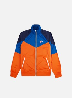 Nike - NSW HE PK WR Track Top, Starfish/Battle Blue/Midnight Navy