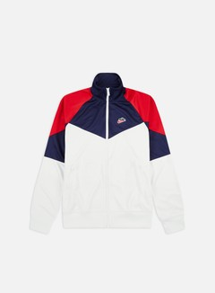 Nike - NSW HE PK WR Track Top, Summit White/Midnight Navy