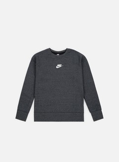 Nike - NSW Heritage Crewneck, Black/Sail