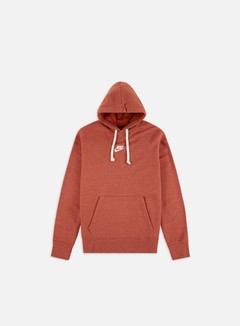 Nike - NSW Heritage Pullover Hoodie, Firewood Orange/Sail