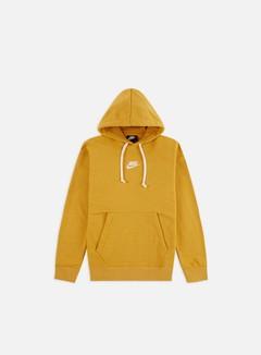 Nike - NSW Heritage Pullover Hoodie, Gold Dart/Sail