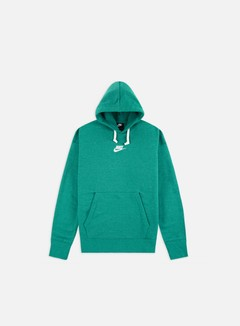 Nike - NSW Heritage Pullover Hoodie, Mystic Green/Sail
