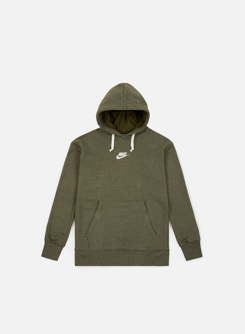 felpe nike nsw heritage pullover hoodie olive canvas sail