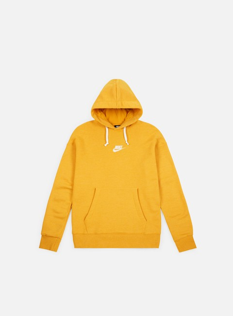 felpe nike nsw heritage pullover hoodie yellow ochre sail