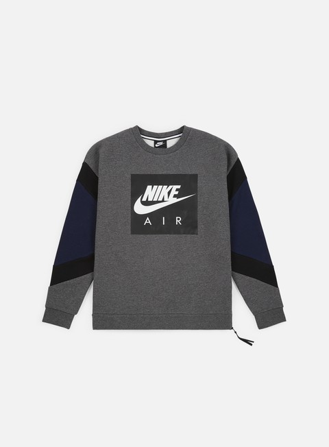 Felpe Girocollo Nike NSW Nike Air Fleece Crewneck