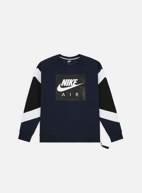 Felpe Logo Nike NSW Nike Air Fleece Crewneck
