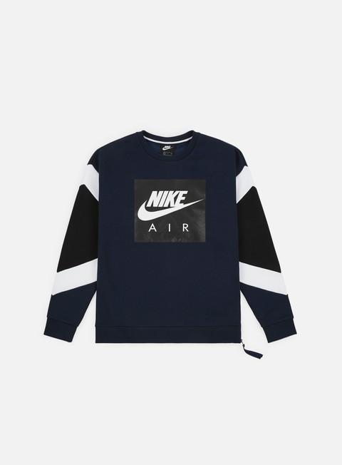 nuovo stile del 2019 professionista di vendita caldo nuovi stili NSW Nike Air Fleece Crewneck