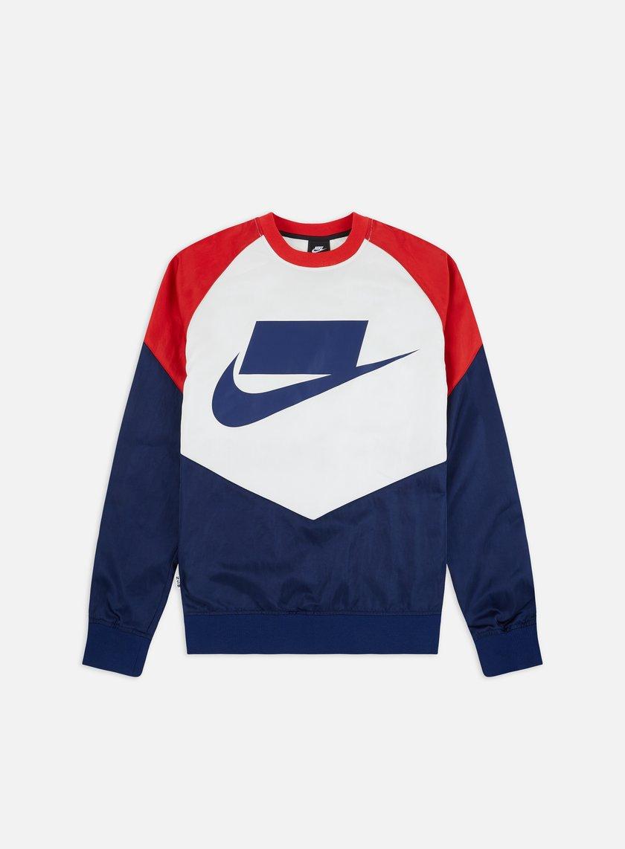 Nike NSW NSP Woven Crewneck