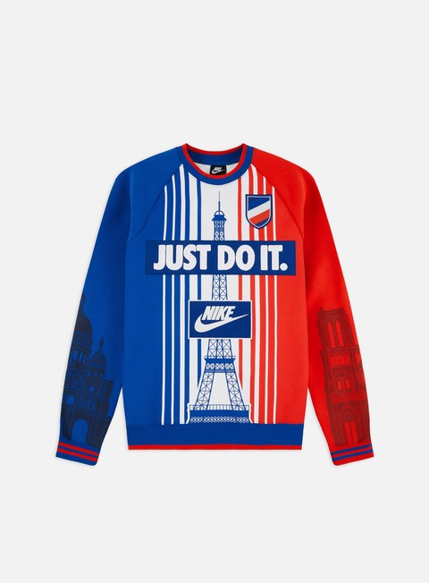 Outlet e Saldi Felpe Girocollo Nike NSW Paris SSNL Crewneck