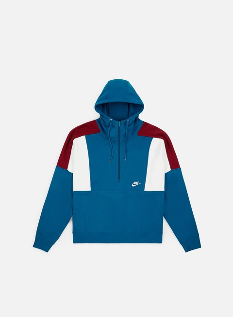 Felpe con Zip Nike NSW Re-Issue Half Zip Hoodie