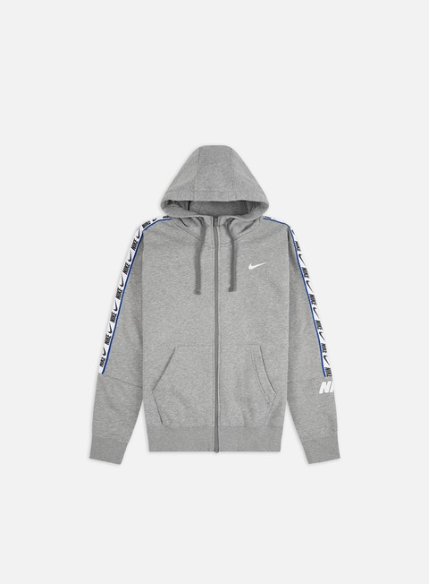 Felpe con Cappuccio Nike NSW Repeat Full Zip Fleece Hoodie