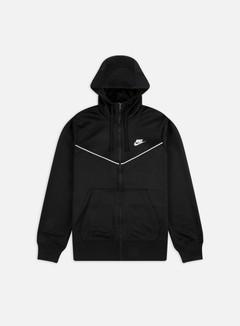 Nike - NSW Repeat PK Full Zip Hoodie, Black