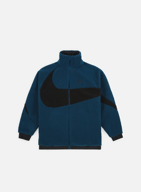 Giacche Intermedie Nike NSW Reverse Swoosh Full Zip Jacket