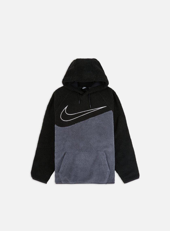 felpa nike swoosh hoodie uomo