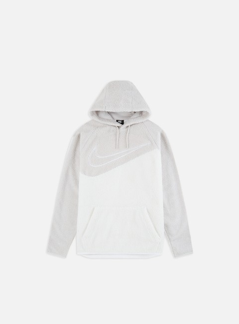 Sweaters and Fleeces Nike NSW Sherpa Swoosh Hoodie