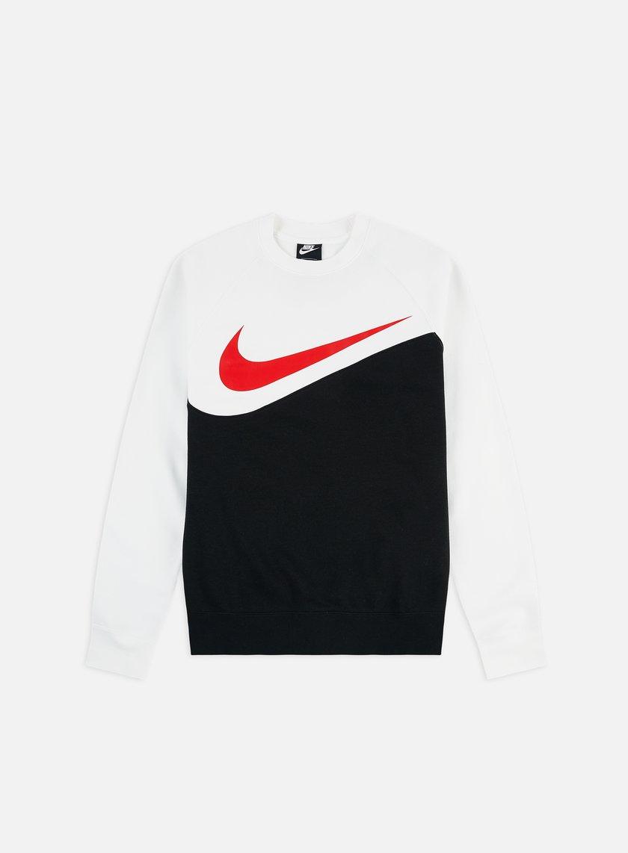 Nike NSW Air Sweatshirt Crew University RedWhiteBlack