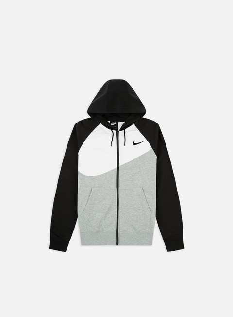 Felpe con Zip Nike NSW Swoosh FT Full Zip Hoodie