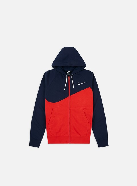 Nike NSW Swoosh FT Full Zip Hoodie