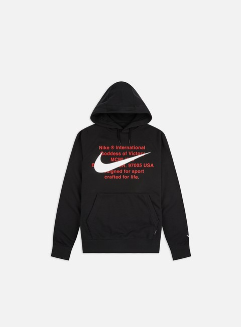 Hooded Sweatshirts Nike NSW Swoosh FT Hoodie