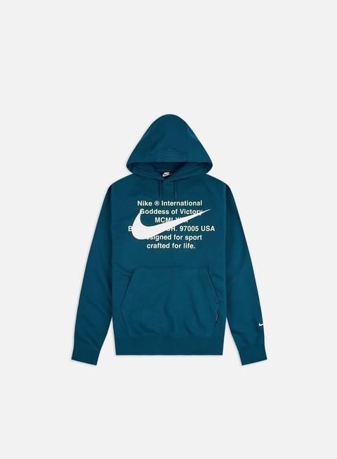Felpe Logo Nike NSW Swoosh FT Hoodie