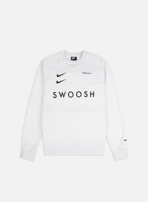 Felpe Logo Nike NSW Swoosh PK Crewneck