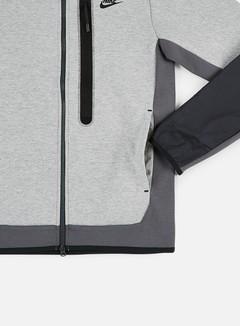 Nike NSW Tech Fleece Woven Mix Full Zip Hoodie