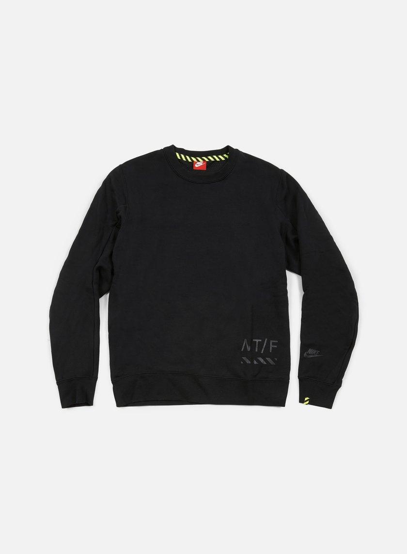 Nike - RU Crewneck, Black/Black