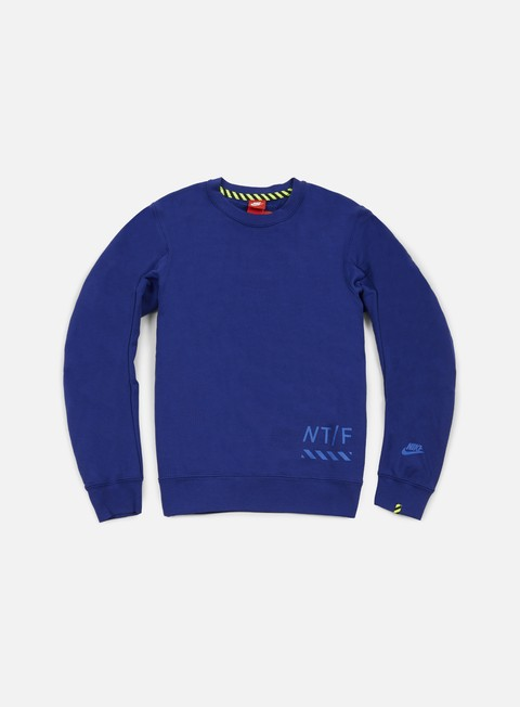 felpe nike ru crewneck deep royal blue game royal