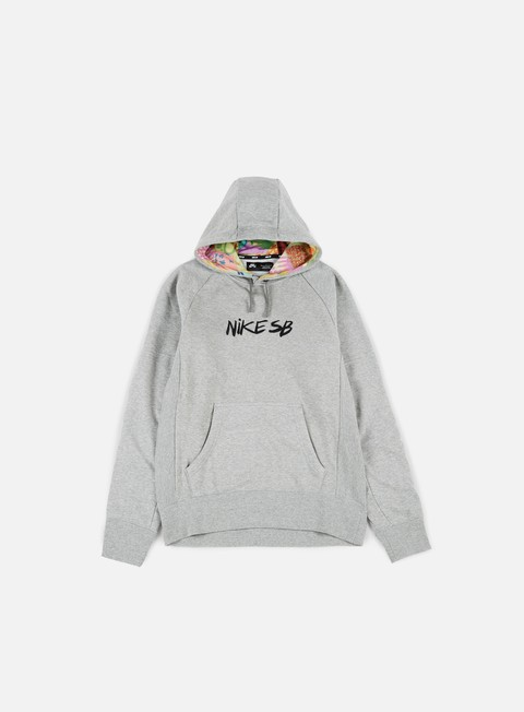 Hooded Sweatshirts Nike SB Dry Everett Quilt Hoodie
