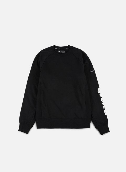 felpe nike sb energy everett crewneck black dark grey