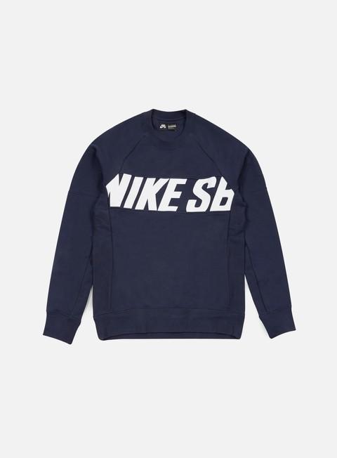Outlet e Saldi Felpe Girocollo Nike SB Everett Motion Crewneck