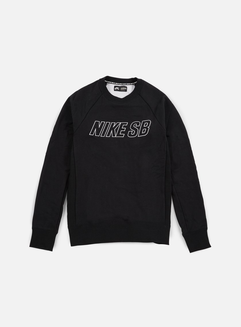 Nike SB - Everett Reveal Crewneck, Black/White