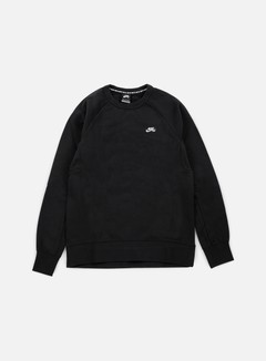 Nike SB - Icon Crewneck, Black/White