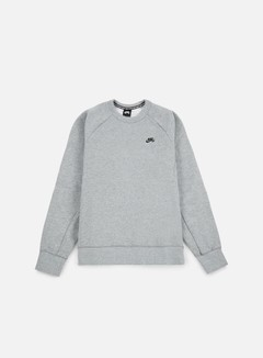 Nike SB - Icon Crewneck, Dark Grey Heather/Black