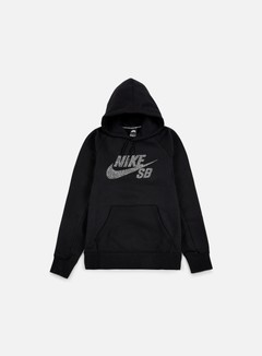 Nike SB - Icon Dots Hoodie, Black/White 1