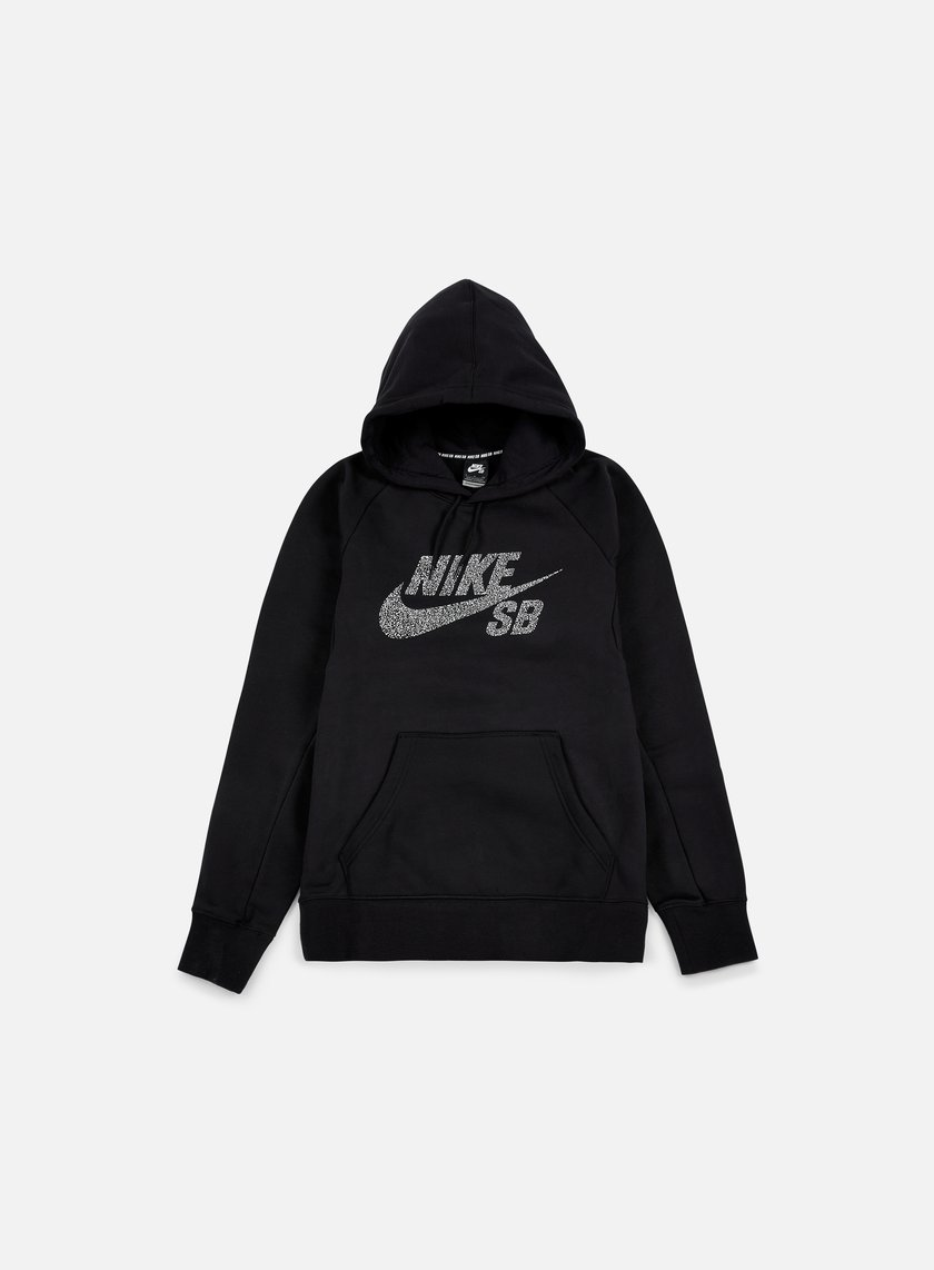 Nike SB - Icon Dots Hoodie, Black/White